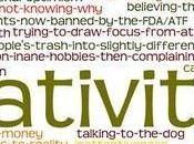 New! Fast-Acting Creativity! Side-effects Include…