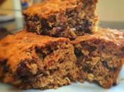 Healthy Dark Chocolate Oatmeal Bars