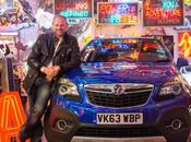 Neon Artwork Inspired Vauxhall Mokka from Chris Bracey