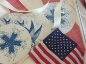 Montage: Red, White Blue Tablescapes