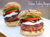 {Italian} Turkey Burgers