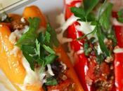 Easy Turkey Veggie Stuffed Peppers