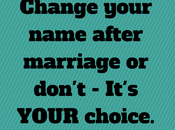 Didn't Change Name After Marriage