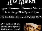 Summer Sunset Market Round