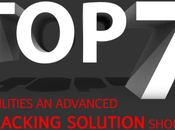 Capabilities Advanced Tracking Solution Should Have