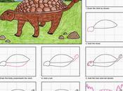Draw Ankylosaurus