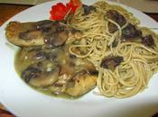 Chicken Marsala with Pasta Recipe