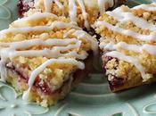 Cherry Berry Streusel Dessert Bars