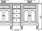 Comfort Height Bathroom Vanities: Shift Standard