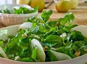 Make Pear, Arugula, Pancetta Salad