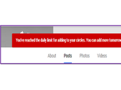People Circle Google Plus Page When Limit Exceeds