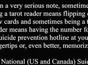 Tarot #45: Serious Note
