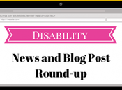 August Disability News Blog Post Round-Up